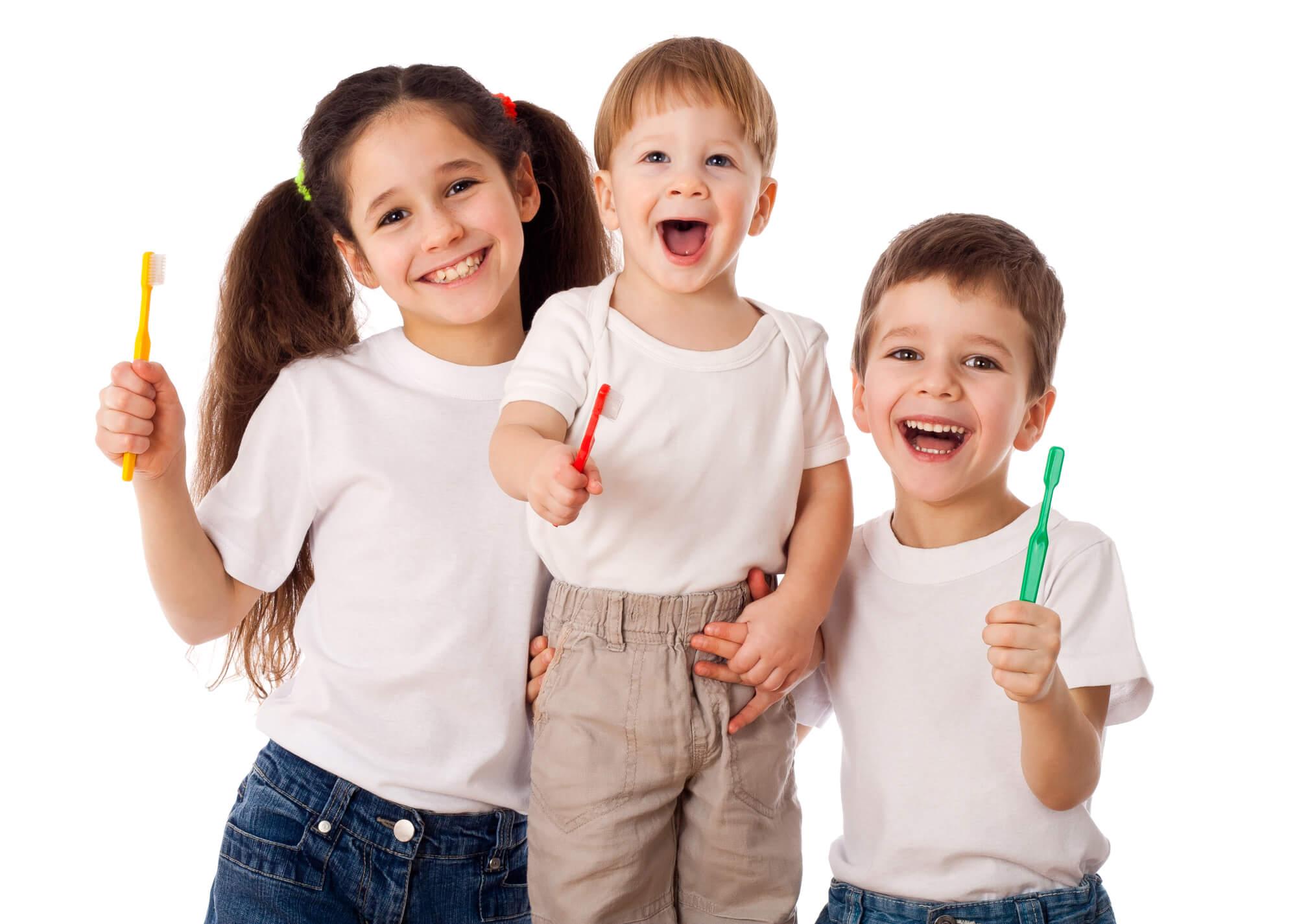 family brushing for Dental offices Fort Pierce