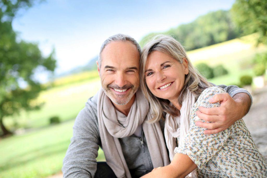 couple Dental Implants Port St. Lucie